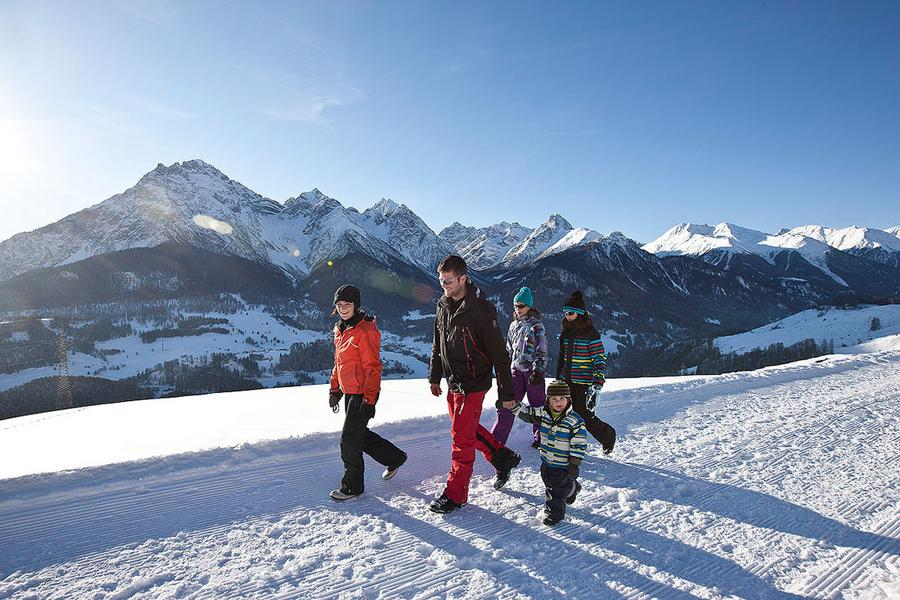 Winterurlaub in Scuol