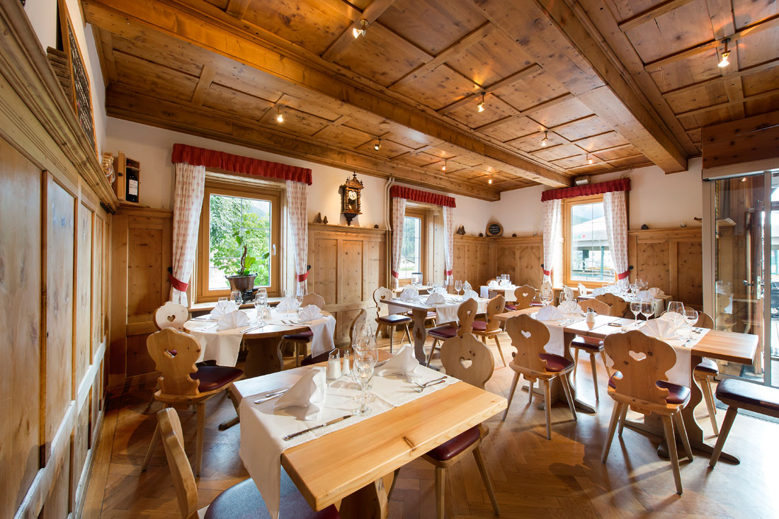 Restaurant in Scuol